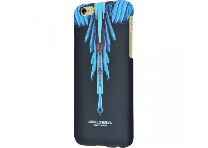 Чехол для iPhone 7/8 Marcelo Burlon Soft Touch №7
