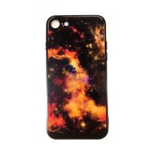 Чехол для iPhone 7/8 Glossy Galaxy желтый