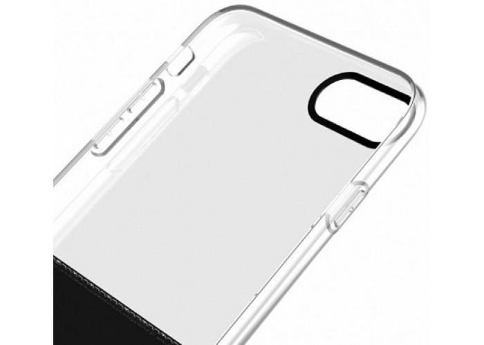 Чехол для iPhone 7/8 Baseus Half to Half Ultrathin черный