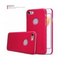 Чехол для iPhone 7/8 Nillkin Matte (пленка в подарок) красный