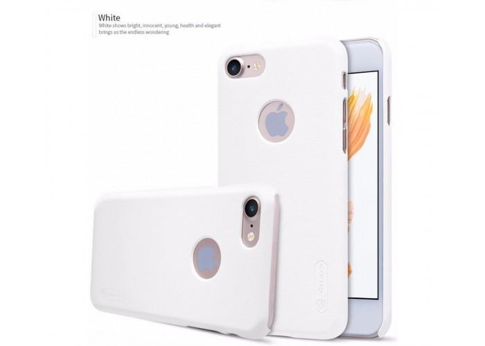 Чехол для iPhone 7/8 Nillkin Matte (пленка в подарок) белый