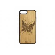 "Чехол для iPhone WoodBox из натурального дерева ""Бабочка"""