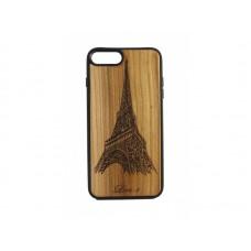 "Чехол для iPhone WoodBox из натурального дерева ""Эйфелева Башня"""