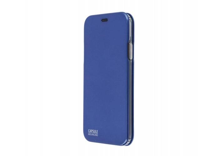 Чехол-книжка для iPhone X Molan Cano Capsule Flip Hard синий