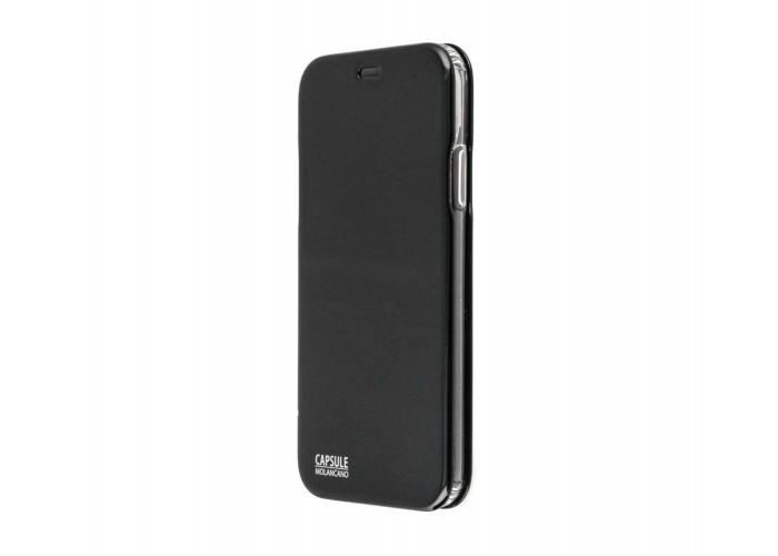 Чехол-книжка для iPhone X Molan Cano Capsule Flip Hard черный