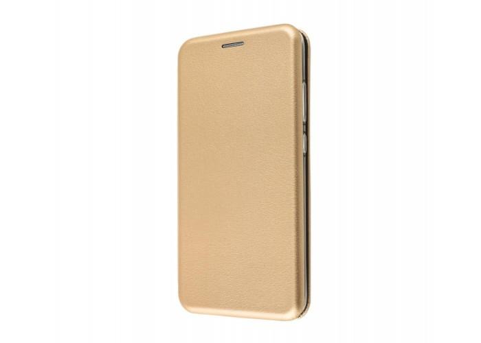 Чехол-книжка для iPhone X/Xs Premium золотистый