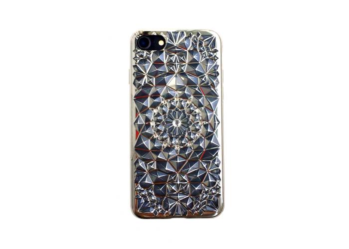 Накладка для iPhone 7/8 Gellin new серебро