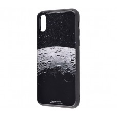 Чехол для iPhone X / Xs White Knight Pictures Glass moon