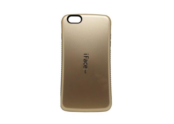 Чехол для iPhone 5/5s/SE iFace золотистый
