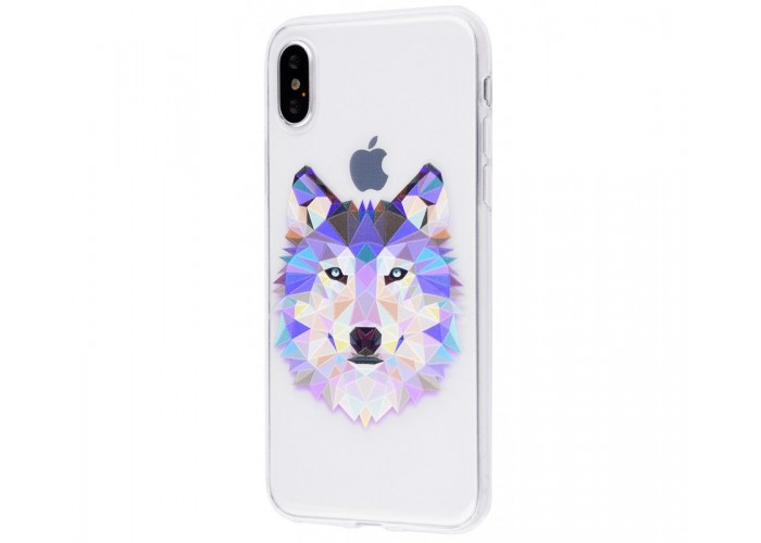 Чехол для iPhone X / Xs волк