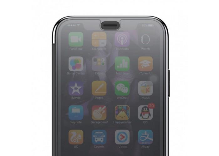 Чехол-книжка для iPhone X Baseus Touchable Case черный