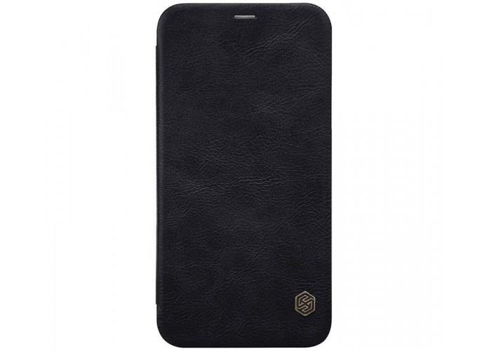 Чехол-книжка для iPhone X Nillkin Qin черный