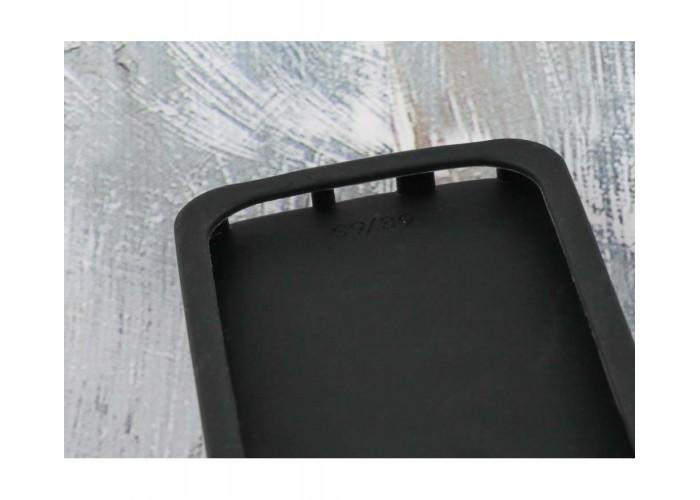 Чехол для iPhone 7/8 черный единорог