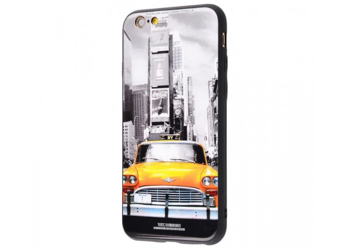 Чехол для iPhone 7/8 White Knight Pictures Glass New York