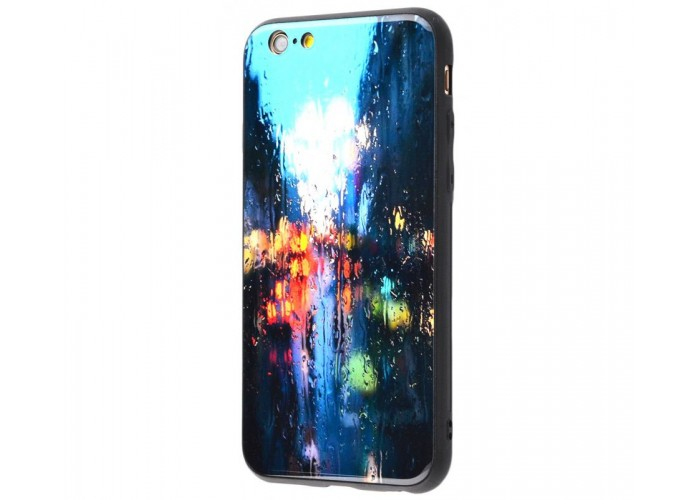 Чехол для iPhone 7/8 White Knight Pictures Glass дождь на стекле