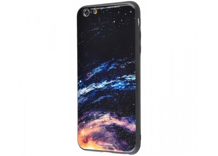 Чехол для iPhone 6 Plus/6s Plus White Knight Pictures Glass галактика