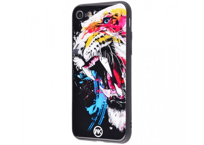 Чехол для iPhone 6 Plus/6s Plus White Knight Pictures Glass тигр