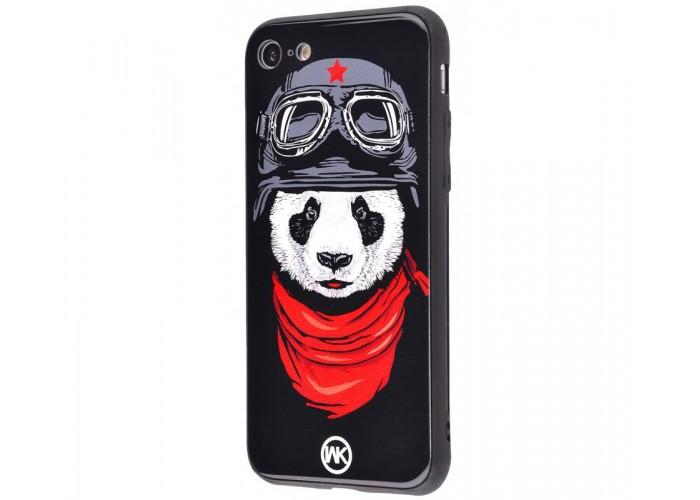 Чехол для iPhone 6 Plus/6s Plus White Knight Pictures Glass панда