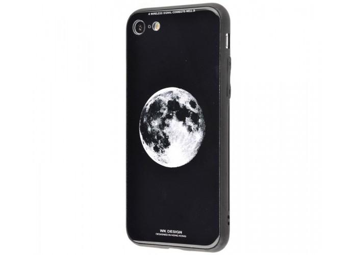 Чехол для iPhone 6 Plus/6s Plus White Knight Pictures Glass луна