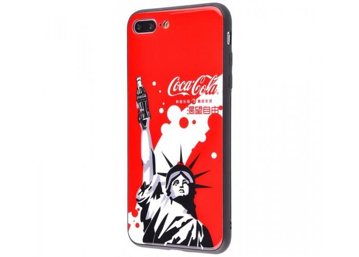Чехол для iPhone 7 Plus/8 Plus White Knight Pictures Glass статуя Свободы