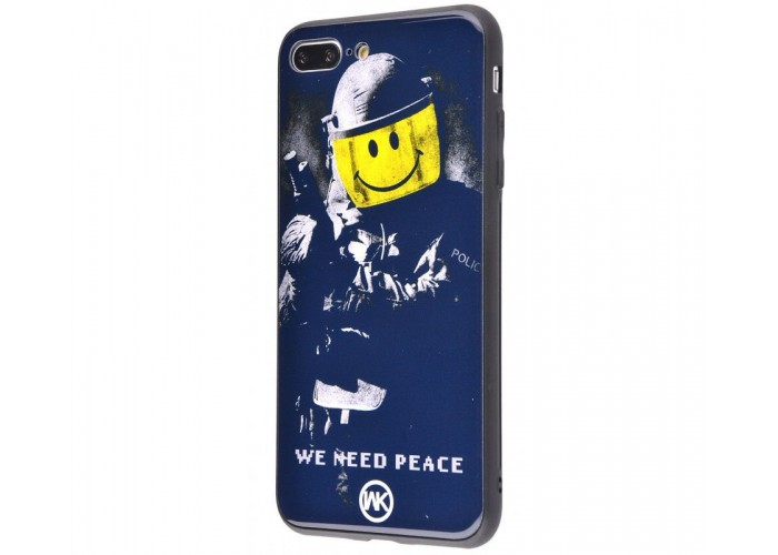 Чехол для iPhone 7 Plus/8 Plus White Knight Pictures Glass We Need Peace