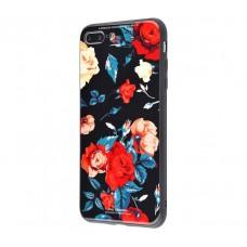Чехол для iPhone 7 Plus/8 Plus White Knight Pictures Glass розы