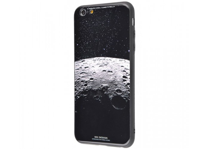 Чехол для iPhone 7/8 White Knight Pictures Glass кратер Луны