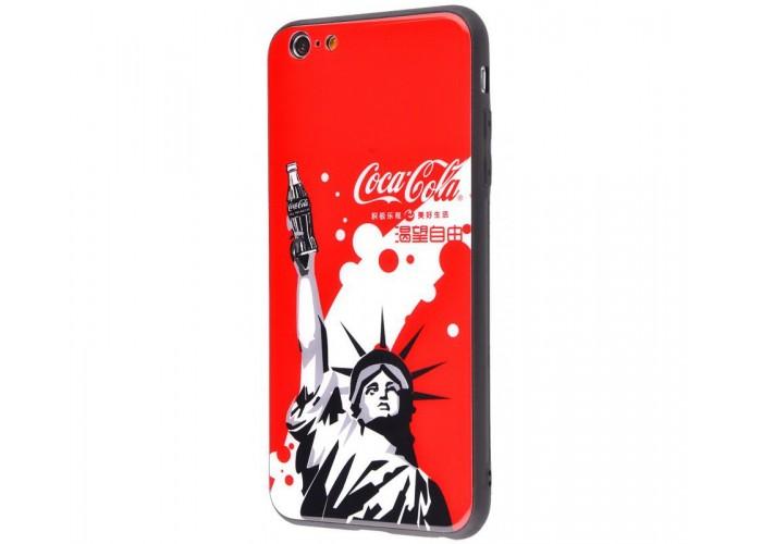 Чехол для iPhone 7/8 White Knight Pictures Glass статуя Свободы