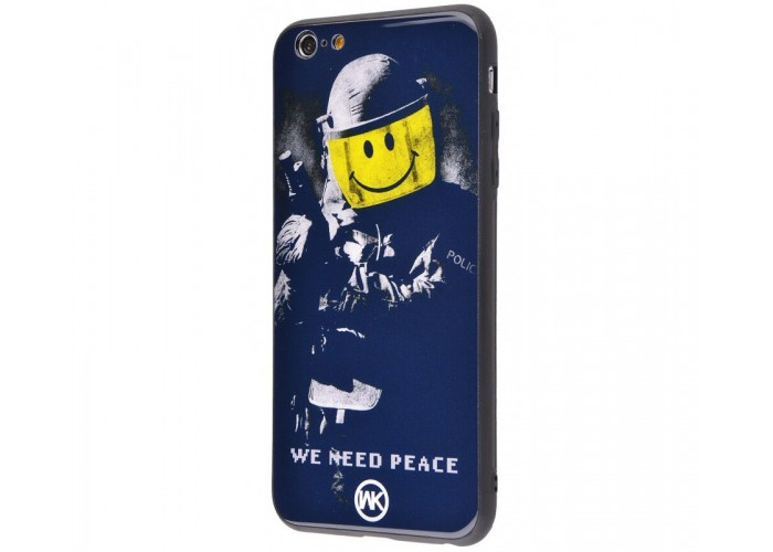 Чехол для iPhone 7/8 White Knight Pictures Glass We Need Peace