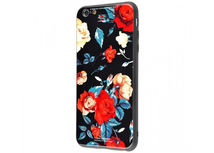 Чехол для iPhone 7/8 White Knight Pictures Glass розы