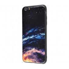 Чехол для iPhone 7/8 White Knight Pictures Glass галактика