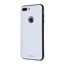 Чехол для iPhone 7 Plus/8 Plus White Knight Glass белый