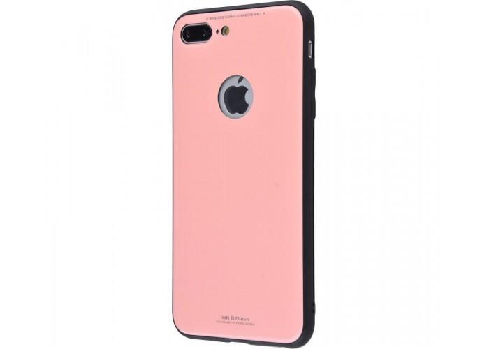 Чехол для iPhone 7 Plus/8 Plus White Knight Glass розовый