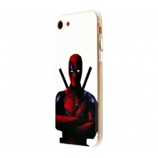 Чехол для iPhone 7/8 White Knight Wear It Deadpool