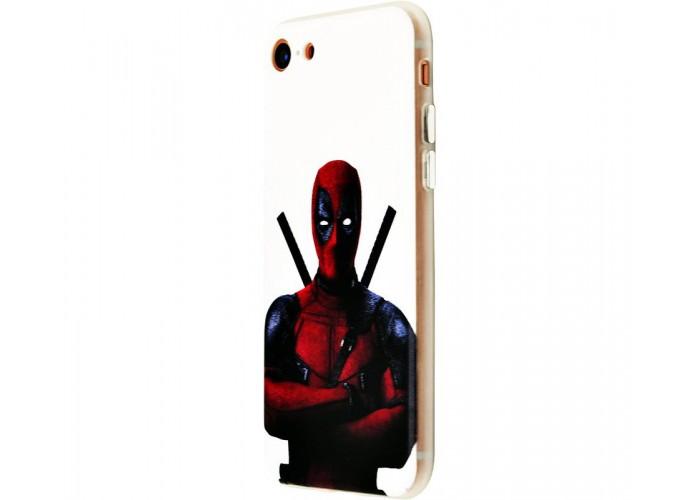 Чехол для iPhone 7/8 White Knight Wear It Deadpool