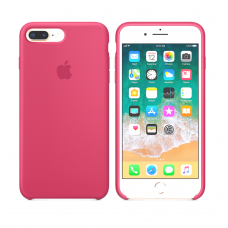 Силиконовый чехол Apple Silicone Case Camelia для iPhone 7 plus/8 plus (Реплика)