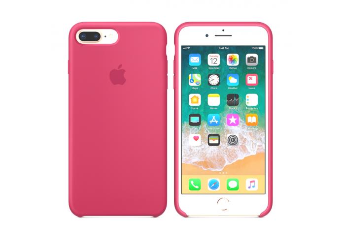 Силиконовый чехол Apple Silicone Case Camelia для iPhone 7 plus/8 plus (Реплика)