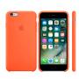 Силиконовый чехол Apple Silicone Case Orange для iPhone 6 Plus/6s Plus