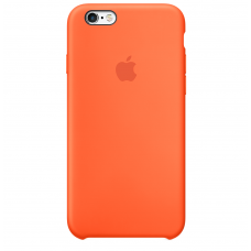 Силиконовый чехол Apple Silicone Case Orange для iPhone 6 Plus/6s Plus