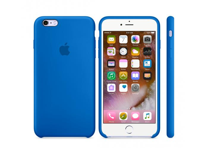 Силиконовый чехол Apple Silicone Case Royal Blue для iPhone 6 Plus/6s Plus