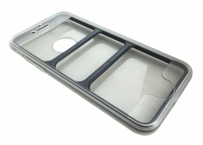 Силиконовый чехол для iPhone 7 Plus/8 Plus Fashion Case Full 360 Transparent (прозрачный)