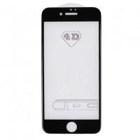Защитное 3D стекло для iPhone 7/8 (черное)