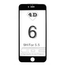 Защитное 3D стекло (черное) для iPhone 6 Plus/6s Plus