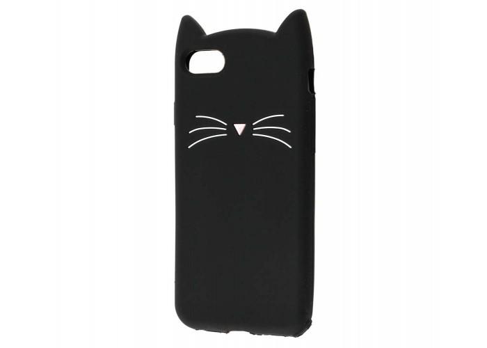 Чехол для iPhone 7/8 кот черный