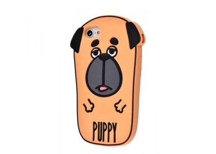 Чехол для iPhone 7/8 Fat Animals щенок