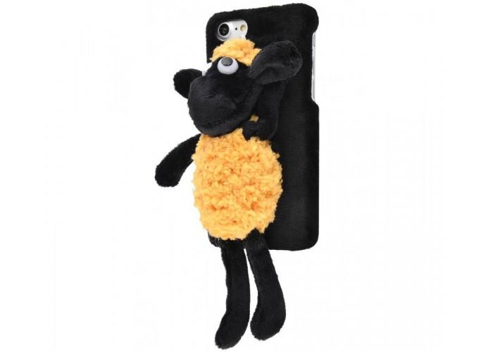 Чехол для iPhone 7/8 Soft Lamb ягненок черно-желтый