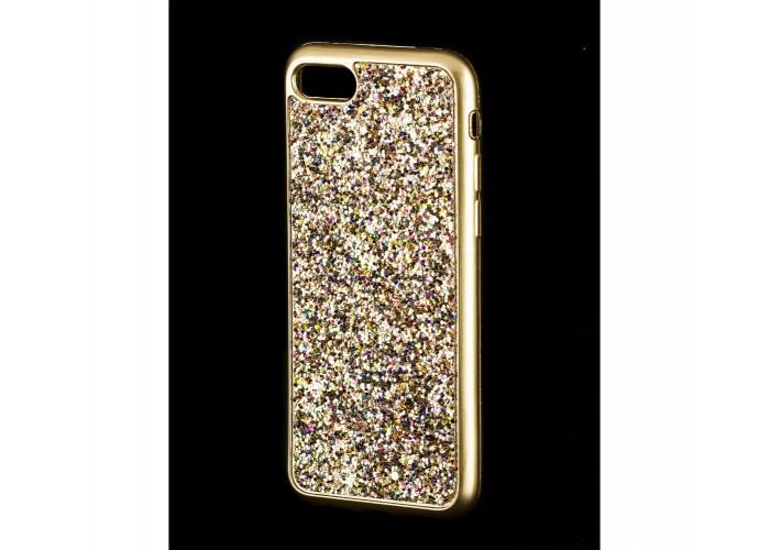 Чехол для iPhone 7/8 Diamond Shining золотистый