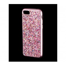 Чехол для iPhone 7/8 Diamond Shining розовый