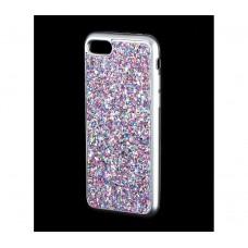 Чехол для iPhone 7/8 Diamond Shining фиолетовый