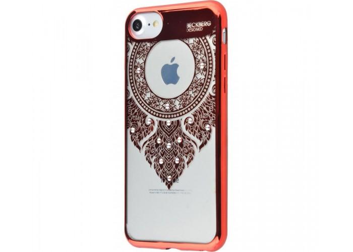Чехол для iPhone 7/8 Beckberg Monsoon молитва красный